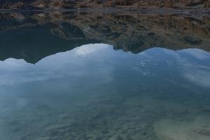 Eau Cristalline Du Lac D Allos